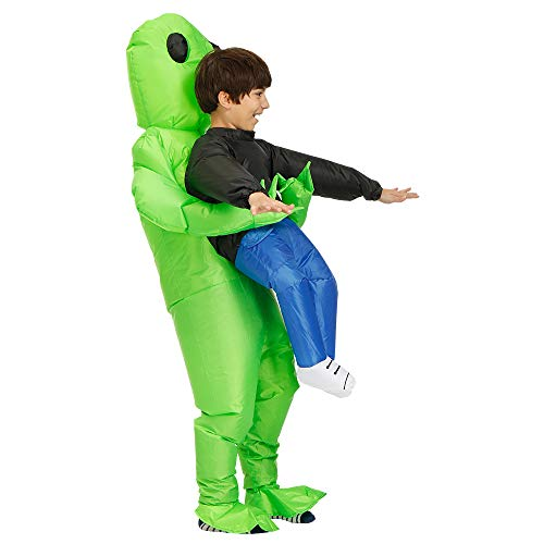 Stegosaurus Inflatable Alien Hold me Costume/Children Inflatable Alien Costume/Halloween Costume/Inflatable Party Costumes