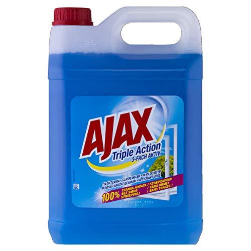 Ajax Glasreiniger mit Sprühpistole, 4er Pack (4 x 500 ml)