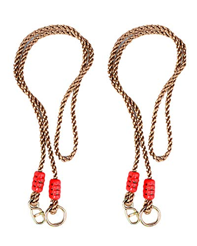 AOBOR Tree Swing Ropes- Length Adjustable Nylon Rope(650 Lbs Limited)...