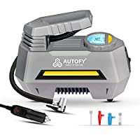 [1 YEAR WARRANTY] – Autofy Portable AIR+ Tyre Inflator comes with best in class No Questions Asked Warranty. Read details on Product Manual before using the product. Take peace because we have you covered. Be it SEDAN, SUV or HATCHBACK, AIR+ is good ...