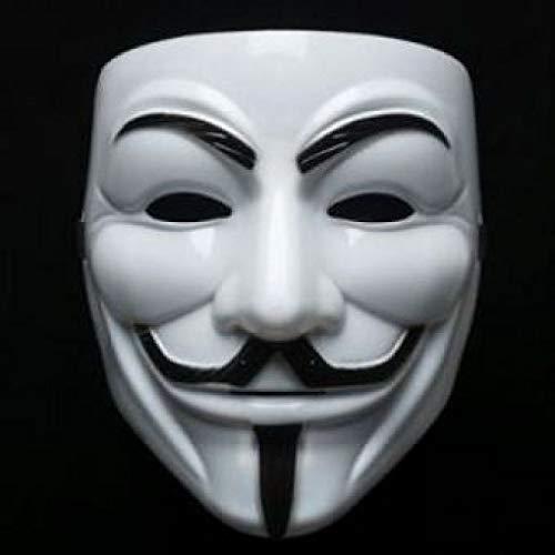 FAVELA Vendetta Comic Anonymous Face Mask White for Boys