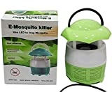 V&D Enterprise LED Mushroom Shaped Mosquito Trap USB Operated Inhaler Killer Lamp (Battery Not Required)