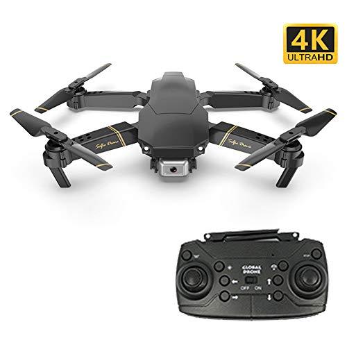 Drone GPS Telecamera 1080P Drone Professionale con Grandangolare Regolabile Camera HD WiFi FPV Quadricottero Funzione Seguimi modalit Senza Testa - Nero