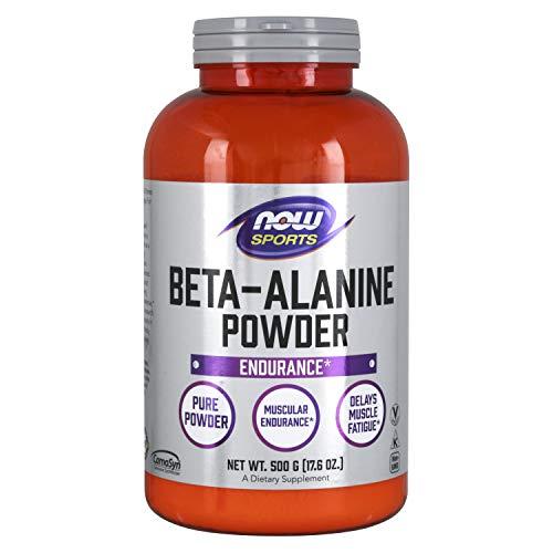 [海外直送品] ナウフーズ  - Β-アラニン 100% Pureパウダー - 500`グラム