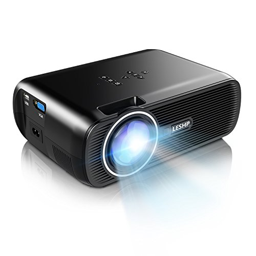 8. 1500 Lumens LCD Mini Projector