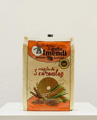 Gofio de Mezcla de 3 Cereales Imendi: Millo, Trigo, Cebada 1kg