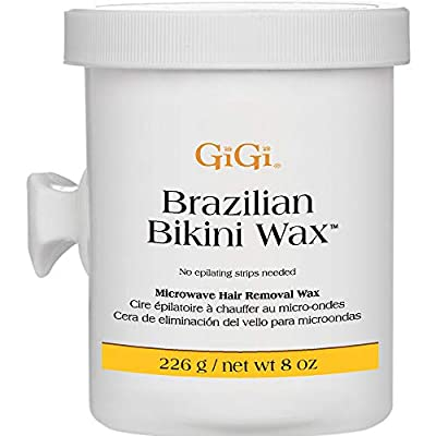 DESIGNED FOR DELICATE AREAS AND BRAZILIAN WAXING: Used by the most prestigious waxing salons worldwide, the GiGi Brazilian Bikini Wax Microwave Formula can be used in small areas like underarms, bikini area, and other delicate zones. The depilatory w...