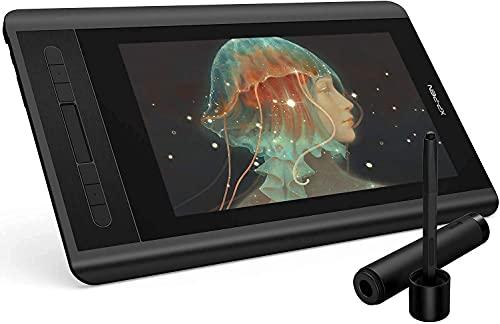 XP-PEN Artist 12 Tablette Graphique avec Ecran HD 11,6 Pouces Moniteur de Dessin avec Stylet Passif à 8192 Niveaux de Sensibilité à la Pression - Idéal Tablette à Ecran pour les Débutants