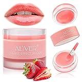 Exfoliante de labios, Mascarilla para dormir de labios de doble efecto, Tratamiento de labios, Mascarilla de labios ...