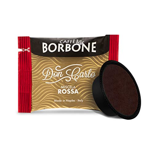 Caffè Borbone Don Carlo Miscela Rossa, Confezione da 100 Capsule