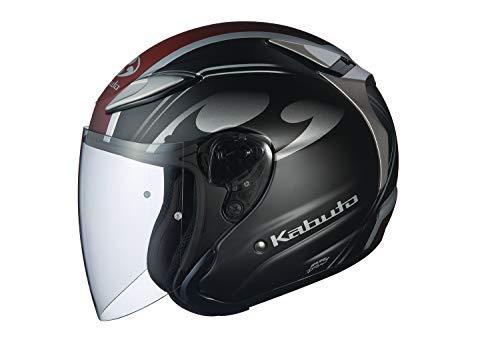 オージーケーカブト(OGK KABUTO)バイクヘルメット ジェット AVAND2 CITTA (チッタ) フラットブラック (サイズ:M)