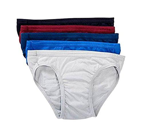 Jockey Mens Cotton Bikini 5 Pack (Small)