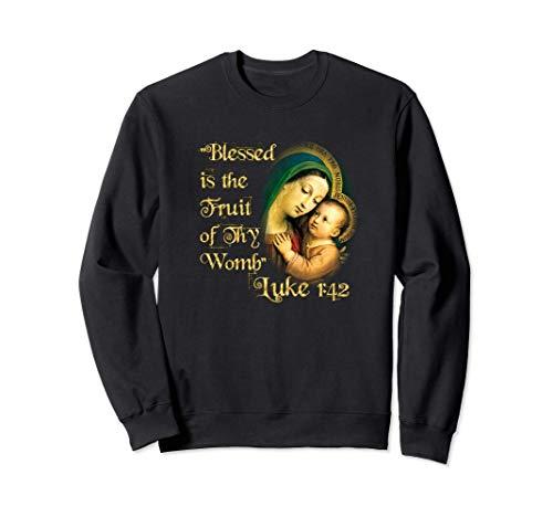 Nuestra Señora Virgen Ave María y Jesús Oración Sudadera