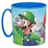 ALMACENESADAN 2713; Taza Super Mario; Producto de plástico; Apta para microondas; Libre BPA;...