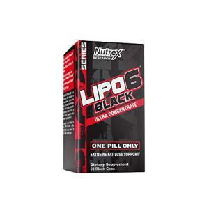 Nutrex Research Lipo-6 Black Ultra Concentrate | Thermogenic Energizing Fat Burner Supplement, Increase Weight Loss, Energy & Intense Focus | 60Count 7 - My Weight Loss Today
