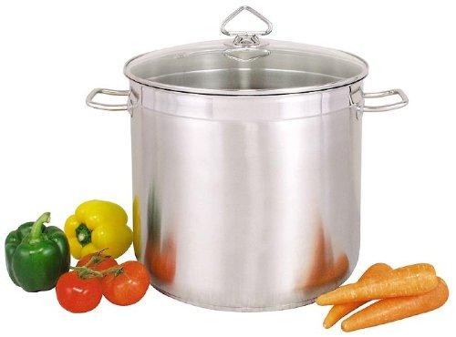 TOP Pentola universale per zuppe, in acciaio INOX, 20 l