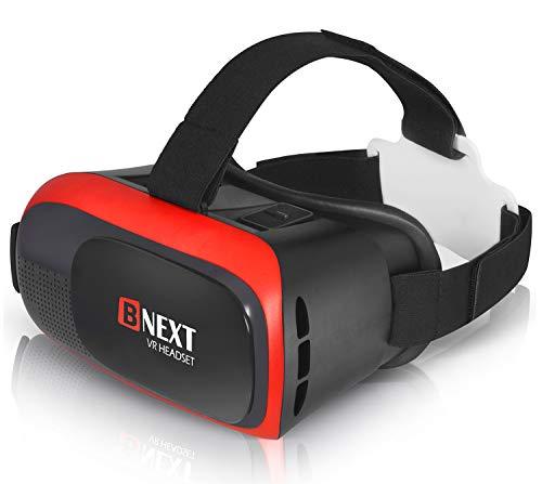 Bnext Gafas VR Compatible con iPhone y Android, Gafas Realidad...