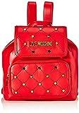 Love MoschinoJc4096pp1aMujerBolsos mochilaRojo (Rosso)15x27x33 centimeters (W x H x L)