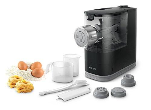 Philips HR2345/29 Viva Collection Pastamaker - Macchina con 4 trafile per preparare da zero pasta e...