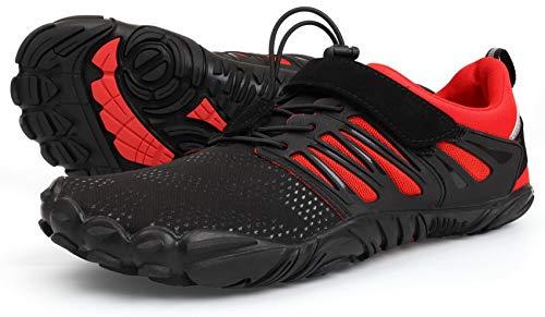 WHITIN Zapatilla Minimalista de Barefoot Trail Running para...