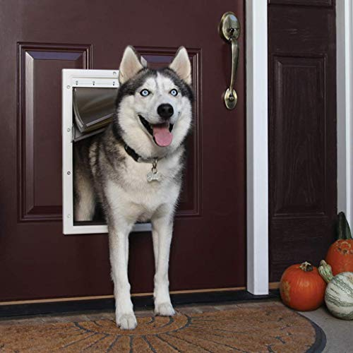 PetSafe Extreme Weather Energy Efficient Pet Door for Cats and...
