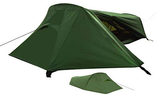 Freetime-Tente 1 PL - Raidlite 1 DLX - Tente de randonnée légère - Tente...