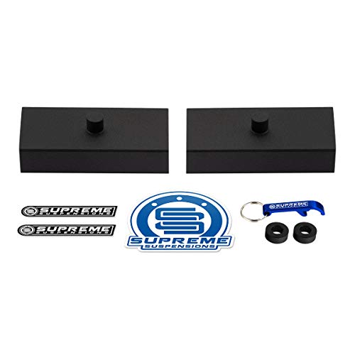 Supreme Suspensions - Rear Leveling Kit for 1999-2020 Toyota Tundra 1' Rear Lift Blocks 2WD 4WD