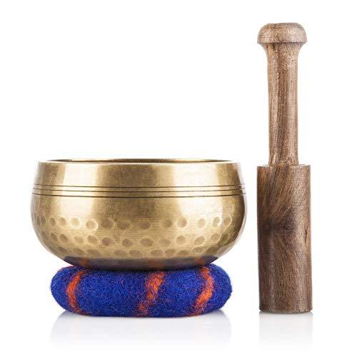 Tibetan Singing Bowl Set — Meditation Sound Bowl...