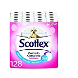 Scottex Original Papier hygiénique – 128 rouleaux