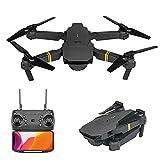 Sjmhing Drone avec caméra pour Enfants et Adultes Pliable - 720P/1080P/4K HD Grand Angle Mini Drone RC Quadcopter pour Débutants Quadcopter Avion Jouet Cadeau...