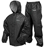 Frogg Toggs Pro Lite Waterproof Rain Suit, Carbon Black, Size Small/Medium