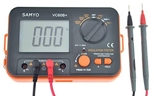 SAMYO VC60B+ Digital Insulation Resistance Tester