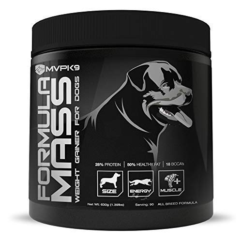 MVP K9 Formula Mass Weight Gainer for Dogs - Helps...
