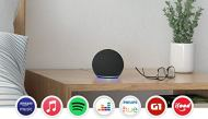 New Echo Dot (4th Generation): Smart Speaker with Alexa - Black Color