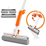 Sponge Mop with Telescopic Stainless Steel...