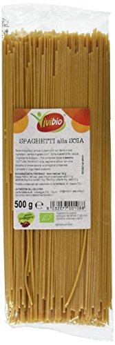 Vivibio Spaghetti alla Soia - 4 pezzi da 500 g [2 kg]