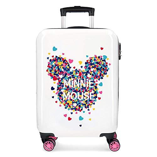 Minnie Magic Corazones Rigid Cabin Trolley