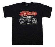 Quaint Point Guzzi Cafe Racers Bikers camiseta hombre T-shirt MOTO7 (XL)