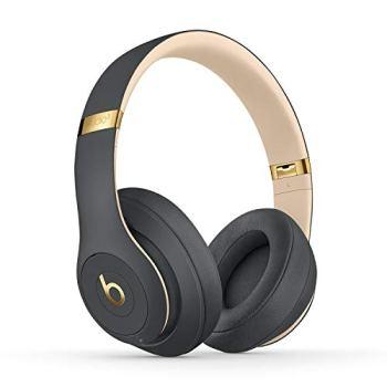Beats Studio3 Casque circumauriculaire sans Fil avec réduction du Bruit - Puce Apple W1 pour Casques et écouteurs, Bluetooth Classe 1, Mode Réduction Active du Bruit, 22 Heures d'écoute - GrisOmbré