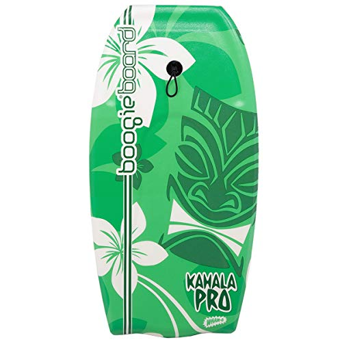 Wham-O Kahala Pro Boogie Board 36 Inch Bodyboard | Fiberclad Cover with Phuzion Core | Premium Wrist Leash Included | Slick Body & Bat Tail |Great for Beginners | Surfboard for Ocean, Sea, River, Pool