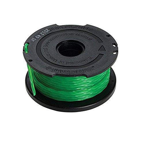 BLACK+DECKER A6482, Rocchetto Filo Nylon, Verde, 6 m x 2 mm, 1 pezzo