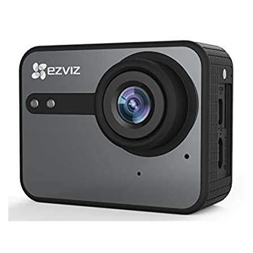 EZVIZ S1C Videocamera Sportiva, Risoluzione Video Full HD 1080P, Foto Fino a 8 Mp, Nero