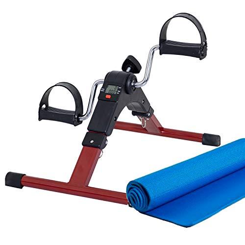 Lifelong LLF63 Fit Pro Foot Pedal Exerciser Machine, Foldable Portable Foot, Hand, Arm, Leg Exercise...