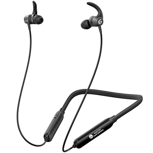 Matlek 15 Hours Non-Stop Bluetooth Earphone Wireless Headphone with Mic Sweat Proof for Running, Gym Work with All The Bluetooth Phones and Devices(Black)
