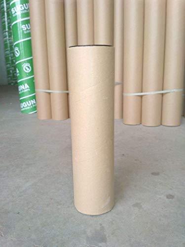 Riyaan Mailing Tubes Paper Tube (Brown) - Pack of 25