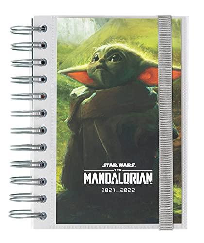 Agenda Star Wars The Mandalorian 2021-2022 - Agenda escolar 2021-2022 / Agenda 2021 día por página - Agenda 11 meses desde Agosto de 2021 a Junio de 2022 | Producto licencia oficial - Agenda Kalenda