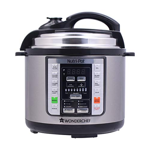 Wonderchef Nutri-Pot Electric Pressure Cooker with 7-in-1 Functions, 3L