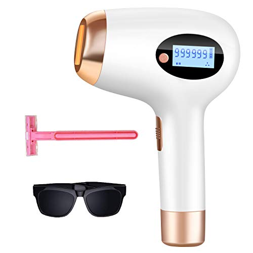 Hair Removal for Women and Man hair removal UPGRADE to 999,999 Permanent Flashes Facial body Profesional Hair Remover Device,A2