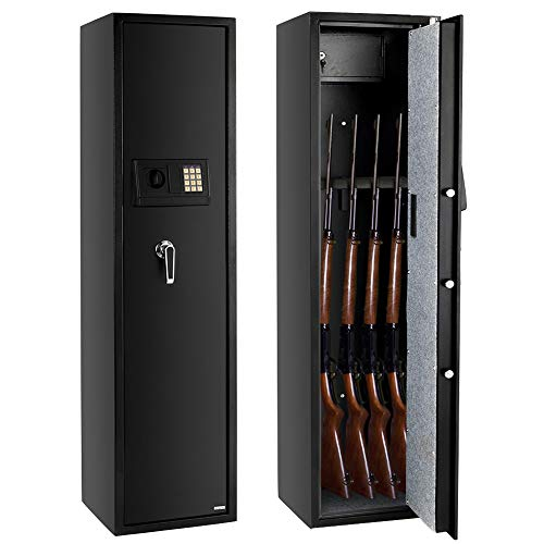 FCH Gun Safe Electronic 5-Gun Rifle Safe Large Firearm Safe...
