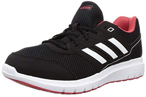 adidas Duramo Lite 2.0, Scarpe da Corsa Uomo, Core Black/Ftwr White/Glory Red, 44 EU